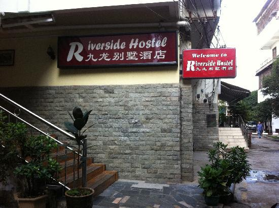 Riverside Hostel front