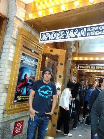 บอร์ดเวย์: Foxwoods Theatre, Broadway NY / Spiderman!!