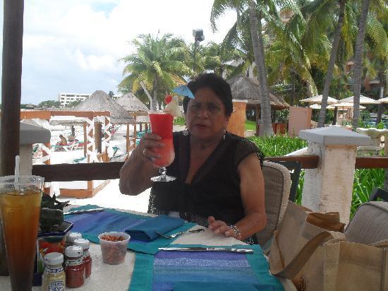 Grand Fiesta Americana Coral Beach Cancun: La comida en general es deliciosa!!