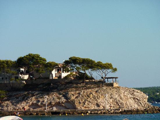 BQ Bulevar Peguera Hotel: Ein Küstenabschnitt....