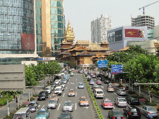 โรงแรมฮิลตันเซี่ยงไฮ้: Views in most directions