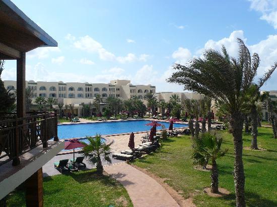 Hasdrubal Thalassa & Spa Djerba: Vue générale de la piscine