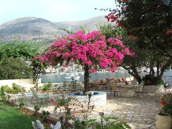Waterside Apartments: the best terrace in Agia Efimia!