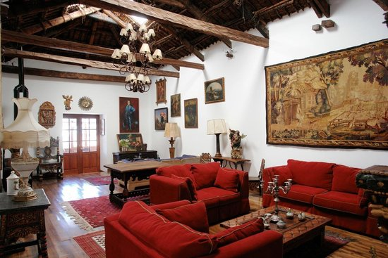 Hotel Casa San Marcos: Lounge