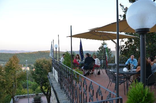 Palazzo Leopoldo Dimora Storica & Spa : from the deck