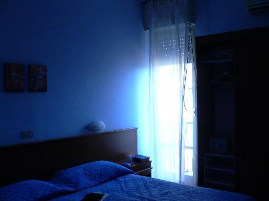 Astor Hotel : camera 2 (letto e finestra)