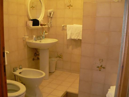 Astor Hotel: bagno
