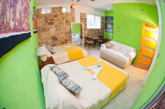 Hotel Tulum: Doble Rooms