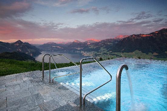 Hotel Villa Honegg: Hotel Pool