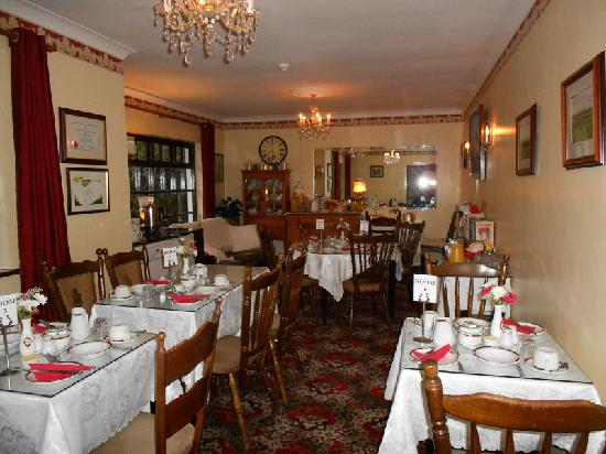 Athlumney Manor B&B: Breakfast Room