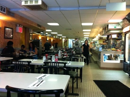 Evergreen Diner: vista dall'ingresso