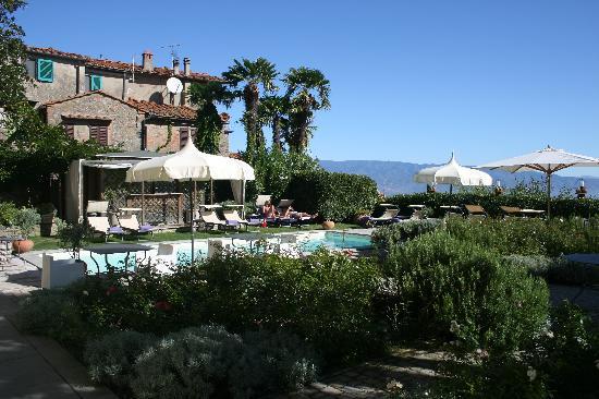 Villa Sassolini Luxury Boutique Hotel: The pool