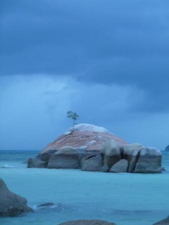 Sea Scene Resort: Pas de coucher de soleil mais belle lumière