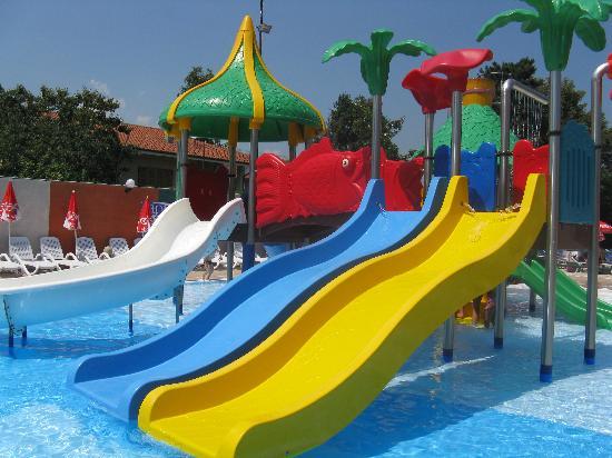 Hotel Villa Glicini: piscine coin enfant