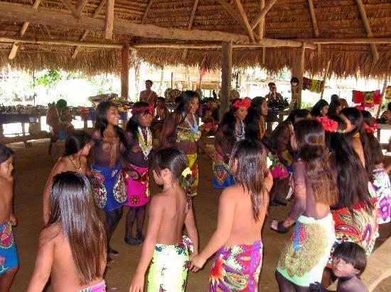 Sendero Panama Tours: Embera indians