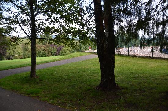 Landhaus Waldheim: hauseigener Agilityplatz