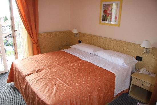 Hotel Ventaglio: kleine, aber sehr schöne Zimmer