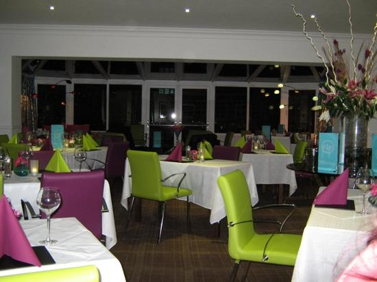 The Clubhouse Hotel: the dining room
