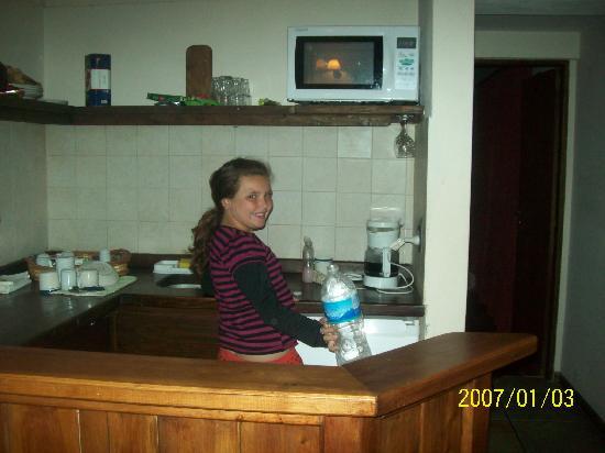 Estancia del Carmen: cocina totalmente equipada