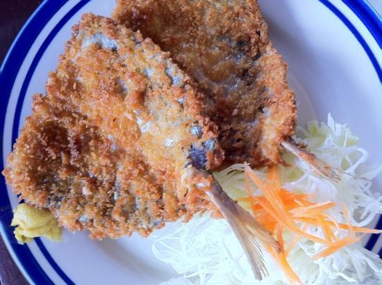 Yu-yu Tei Japanese Restaurant: fried fish
