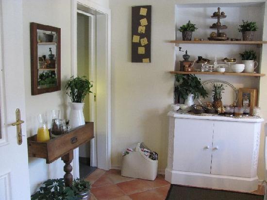 Gastehaus Waldeck: breakfast room