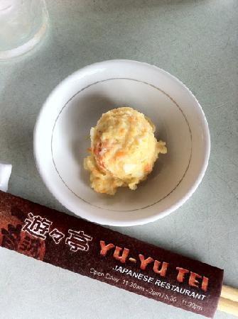 Yu-yu Tei Japanese Restaurant: Appetizer