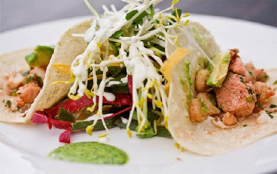Stickleback West Coast Eatery : Fish Taco's
