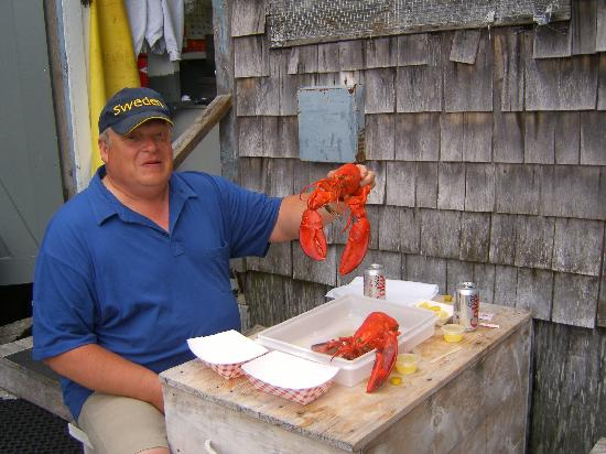 The Tuck Inn B&B: Dinner at Roy Moore's Lobster Shack