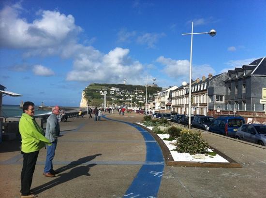 seafront picture of hotel de la plage fecamp tripadvisor. Black Bedroom Furniture Sets. Home Design Ideas
