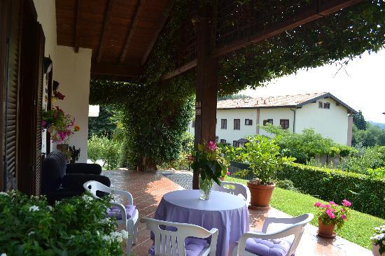 Casnate Con Bernate, Италия: Terrace