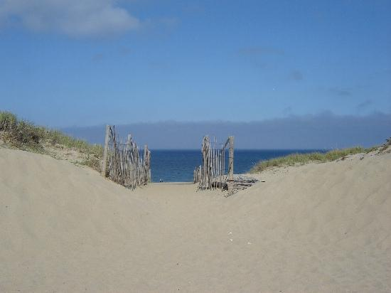 Race Point Beach: Entry to the beach