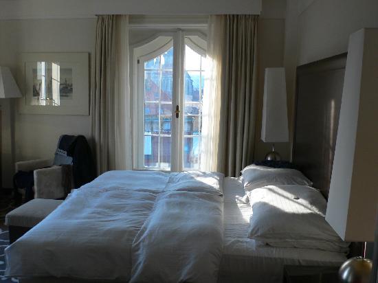 Grand Hotel Bohemia: The room