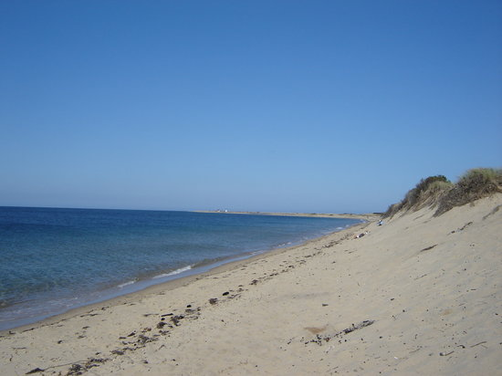 Herring Cove Beach : When we first entered the beach area