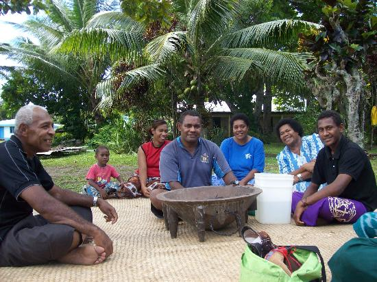 Papageno Resort: Sevu Sevu (kava) at Daku Village