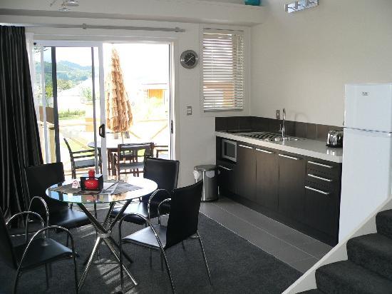 Anchor Lodge Coromandel: Our apartment