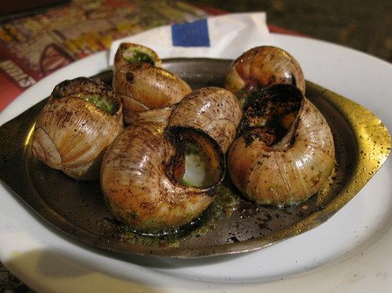 Taverne St Veran: escargot