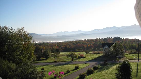 The Victorian on Sunset Hill: View from our private deck