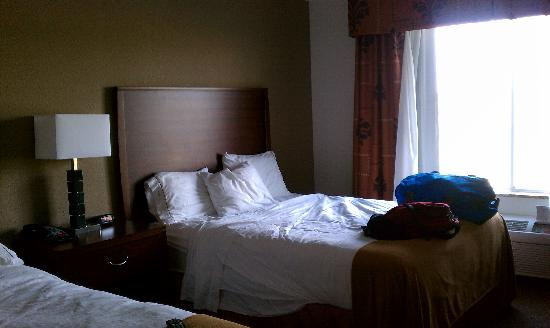 Holiday Inn Express Hotel & Suites Dubuque-West: Comfy bed!