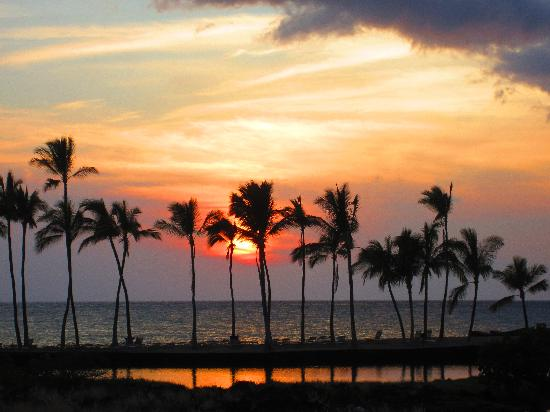 Waikoloa Beach Marriott Resort & Spa: Waikoloa Beachat sunset