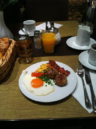 Mercure Hotel Hannover Mitte: mornings