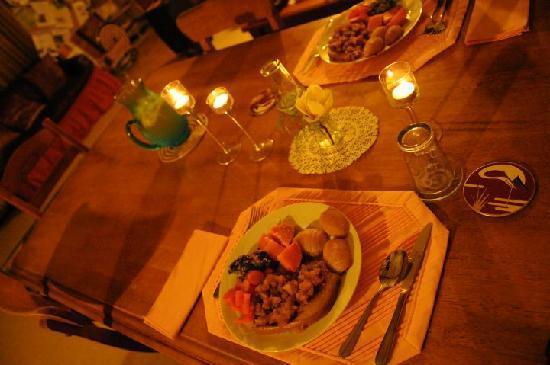 Mount Tutu Eco-Sanctuary: Dinner