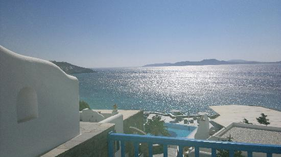 Mykonos Grand Hotel & Resort: View from room 234