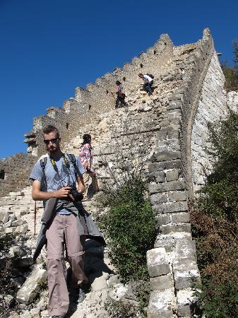 The Great Wall Hike (James Private Tour): It gets steep in parts