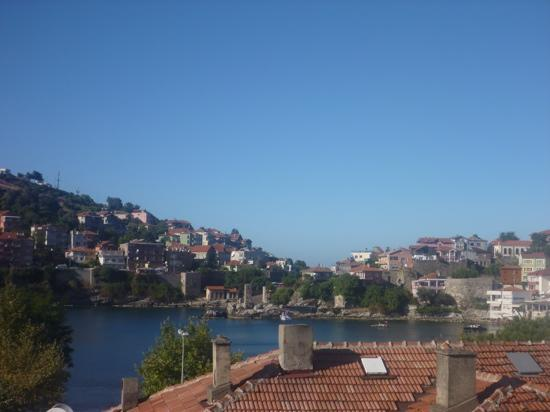 Seymen Otel: view from our hotel room in Amasra