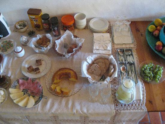 Monte Das Alpenduradas: Breakfast