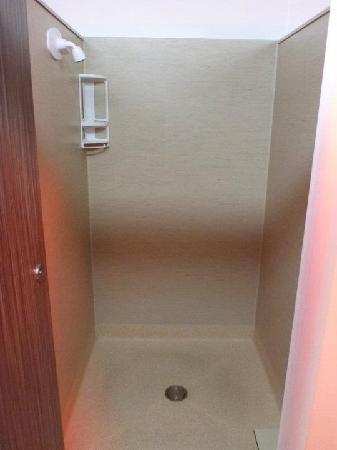 Rotorua Top 10 Holiday Park: Shower Booth
