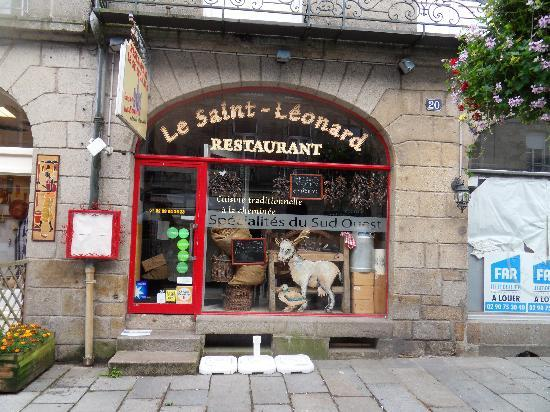 Restaurant Saint Leonard Fougeres