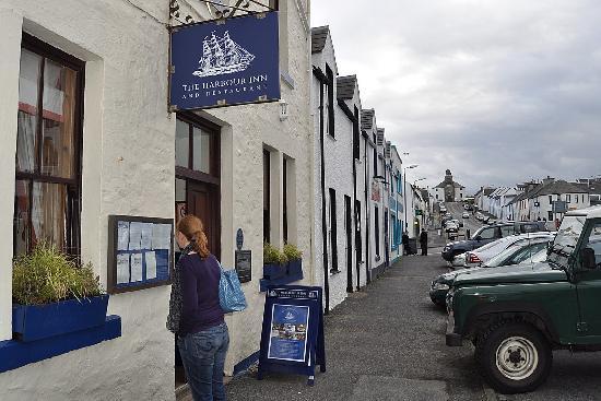 The Harbour Inn on Bowmore's main street
