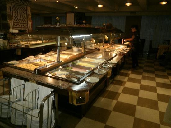Capsis Hotel Thessaloniki : Breakfast