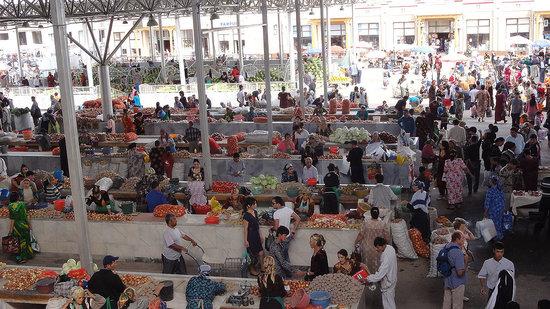 سمرقند, أوزبكستان: Basar